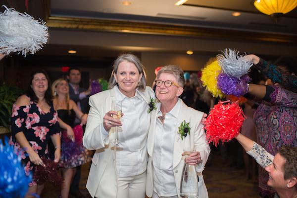 Leah Langley Photography - orlando wedding photographer - Grand Bohemian Hotel- LGBTQ wedding - Orlando LGBTQ wedding photography - grand exit