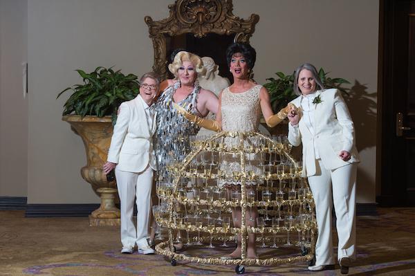 Leah Langley Photography - orlando wedding photographer - Grand Bohemian Hotel- LGBTQ wedding - Orlando LGBTQ wedding photography - champagne