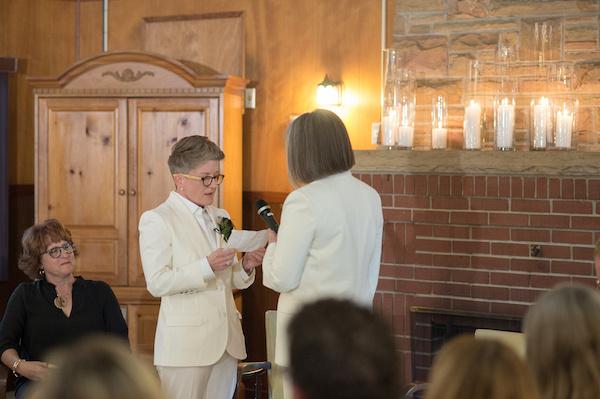 Leah Langley Photography - orlando wedding photographer - quaker wedding - LGBTQ wedding - Orlando LGBTQ wedding photography - Orlando Quaker Meeting - exchanging vows