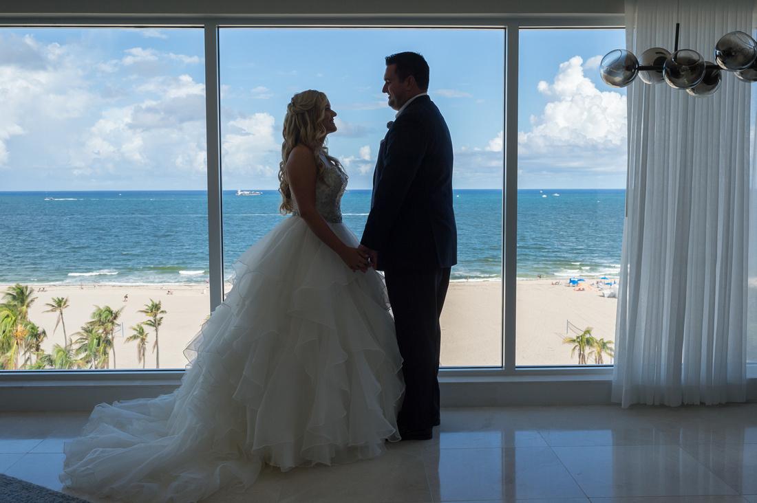 Leah Langley Photography – Florida Wedding Photographer – south Florida wedding photographer – Jacaranda country club wedding -bride and groom