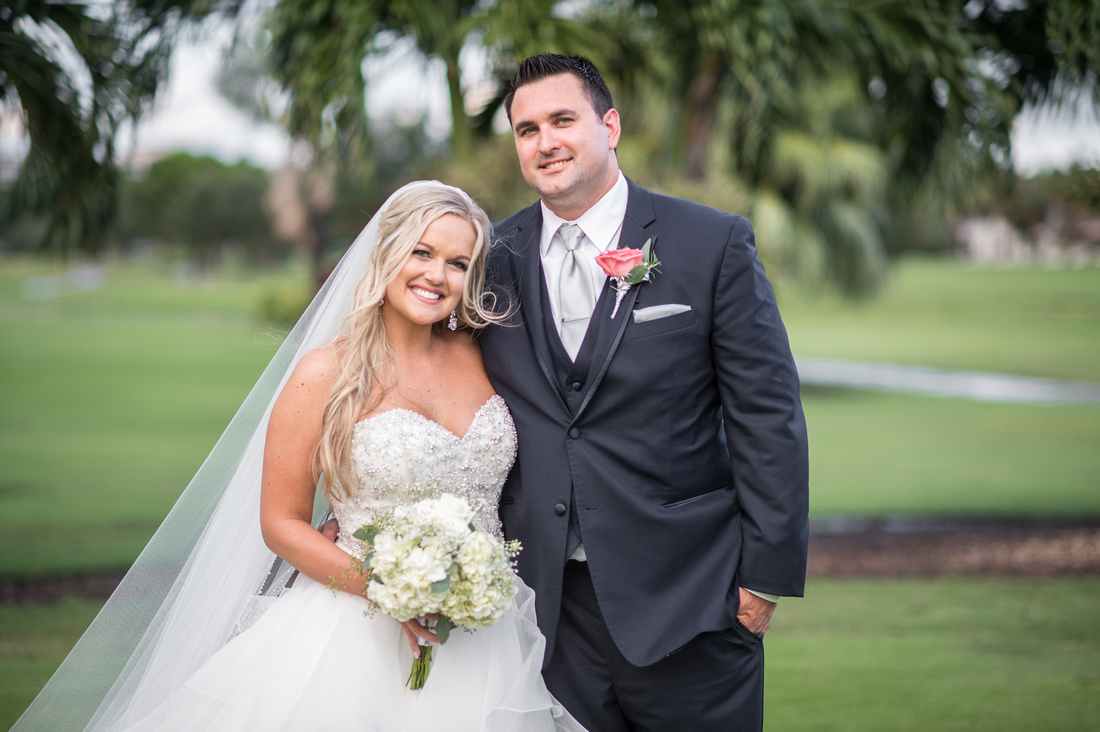 Leah Langley Photography – Florida Wedding Photographer – south Florida wedding photographer – Jacaranda country club wedding -just married