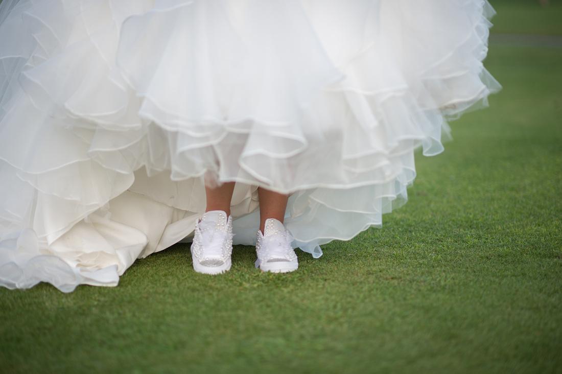 Leah Langley Photography – Florida Wedding Photographer – south Florida wedding photographer – Jacaranda country club wedding -wedding shoes