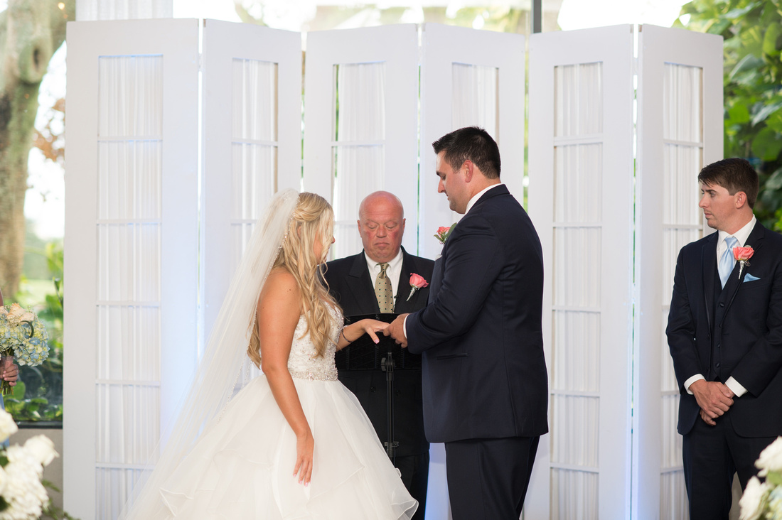 Leah Langley Photography – Florida Wedding Photographer – south Florida wedding photographer – Jacaranda country club wedding -wedding ceremony