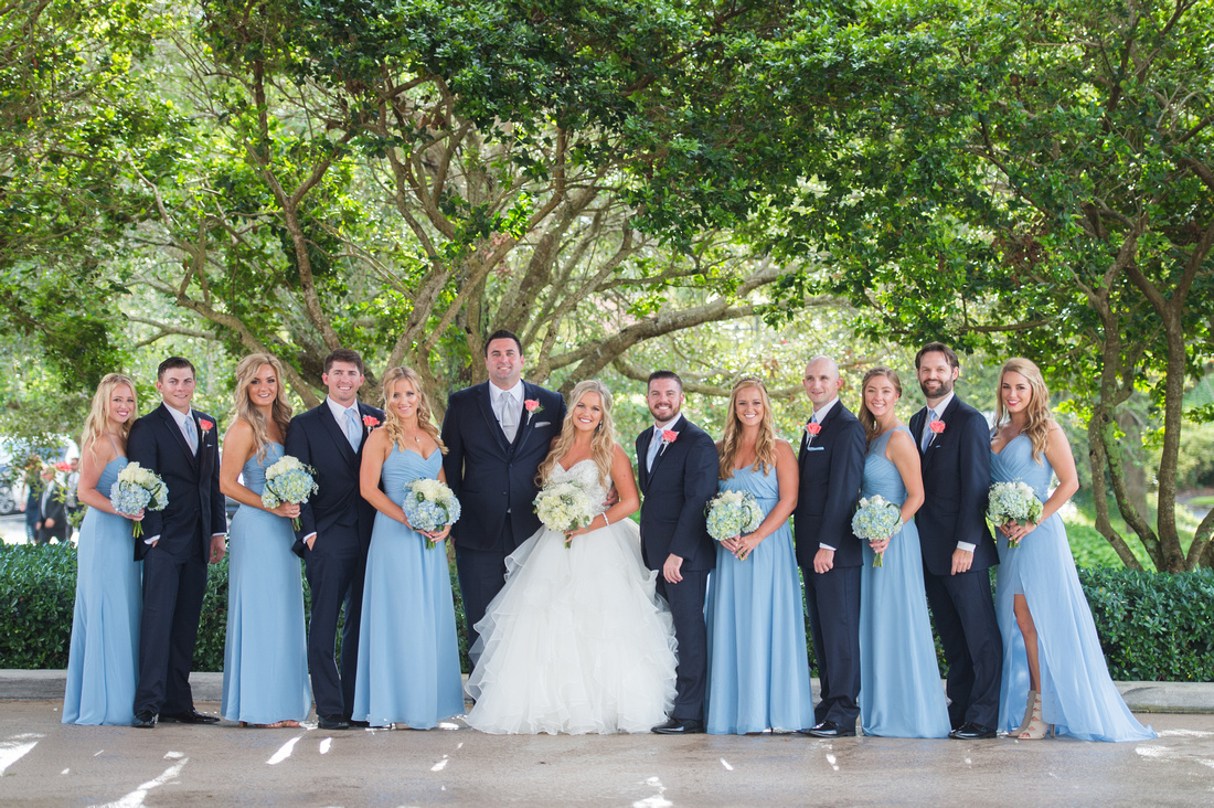 Leah Langley Photography – Florida Wedding Photographer – south Florida wedding photographer – Jacaranda country club wedding -wedding party photos
